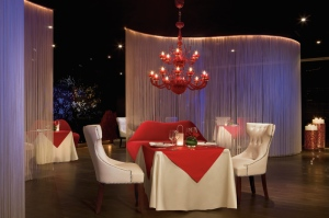 The adults-only, Cin-Cin offers Mediterranean gourmet cuisine in an elegant and romantic atmosphere.