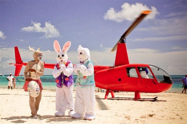 At Now Larimar Resort & Spa, the Easter Bunny arrives in style!