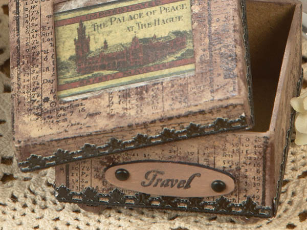 Mini Travel Box Detail