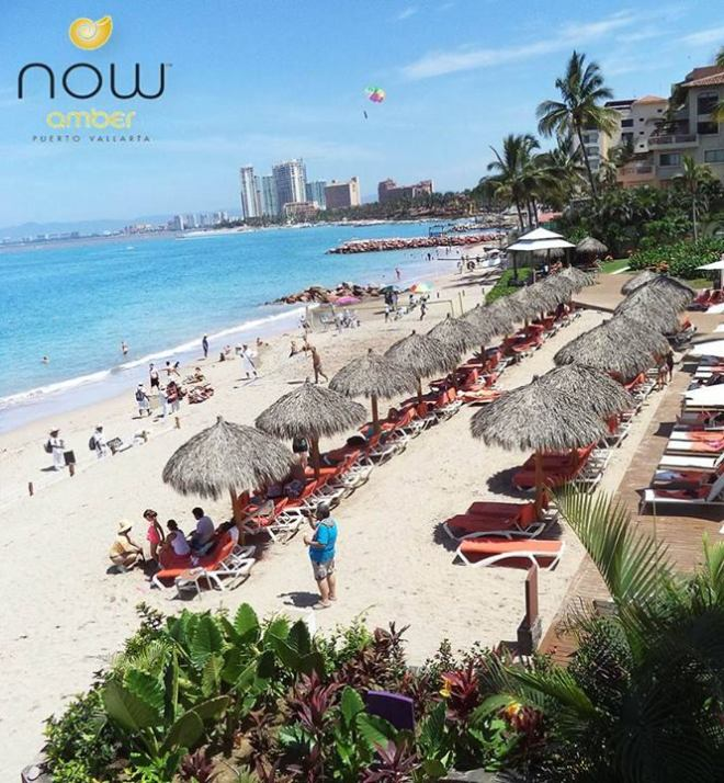 Another perfect day to soak up some sunrays on the beach at Now Amber Puerto Vallarta!