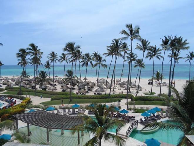 Recent guest Romy took this snapshot of the beachfront at Now Larimar Punta Cana. ¡Qué bonita!