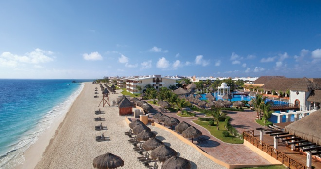 Gorgeous panoramic shot of Now Sapphire Riviera Cancun!