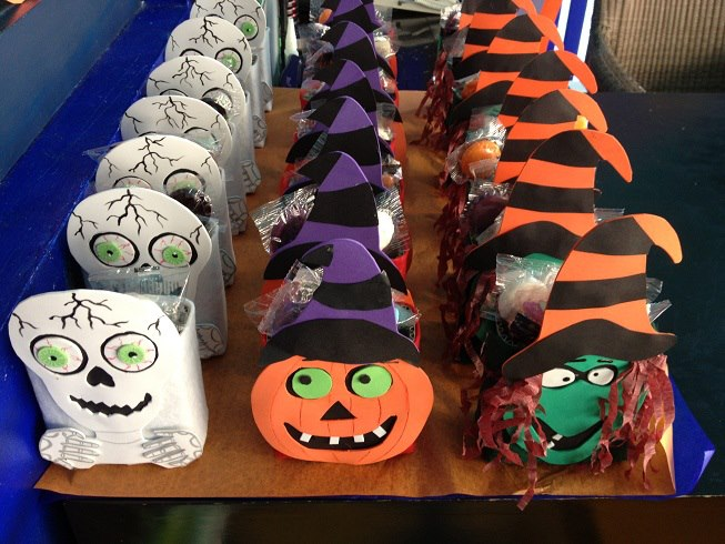 Now Jade assembled special Halloween packages for guests.