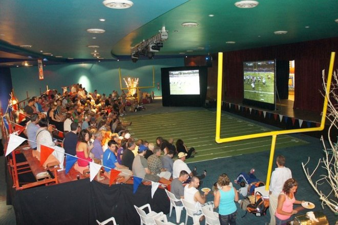We had a full crowd last year for the game at Now Jade Riviera Cancun!