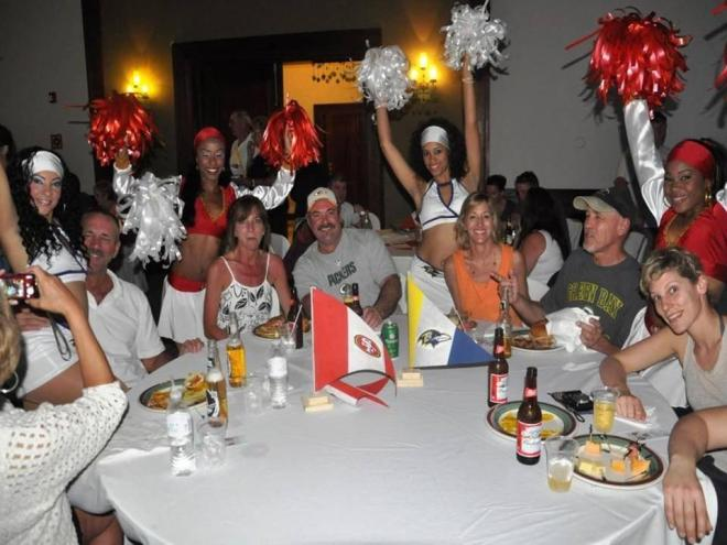 Our staff got the crowd pumped during the game at Now Larimar Punta Cana!