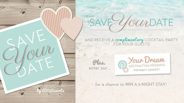 save the date Here Now – Save the Date for Destination Weddings