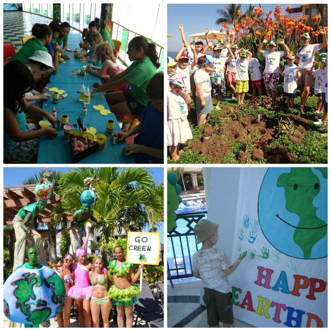 Guests at Now Resorts & Spas celebrate Earth Day!