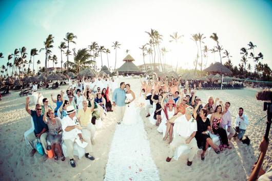 "Alex & AJ say ""I do"" at Now Larimar Punta Cana Resort & Spa!"