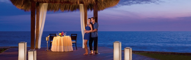 Experience a truly romantic dining experience at Now Amber Puerto Vallarta