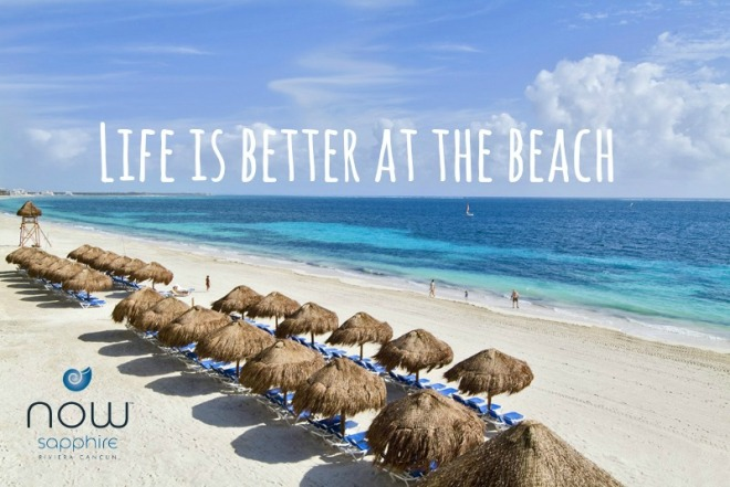 Come celebrate Beach Thursday with us in person at Now Sapphire Riviera Cancun!