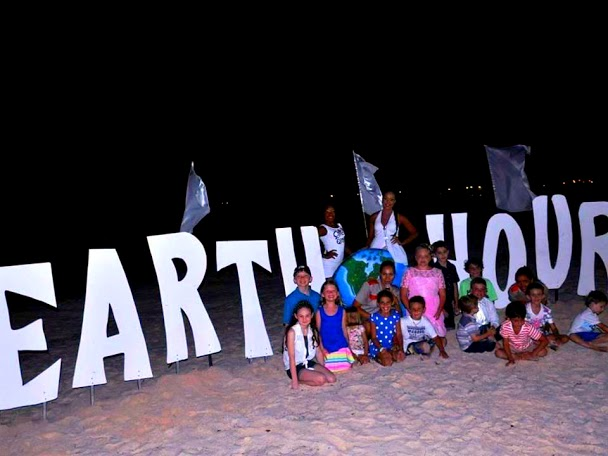 Earth Hour Now Larimar