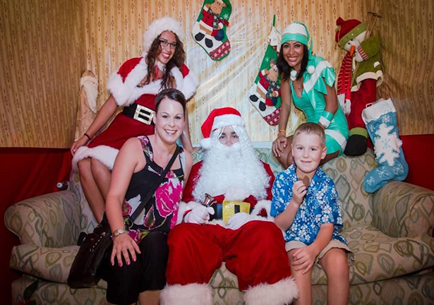 Be on the look out for a special visitor this Christmas at Now Sapphire Riviera Cancun!