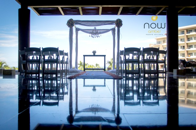 NOAPV wedding lobby set up
